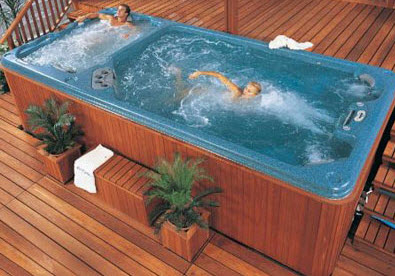 Swimming pools with hot tubs style for Hot tub styles